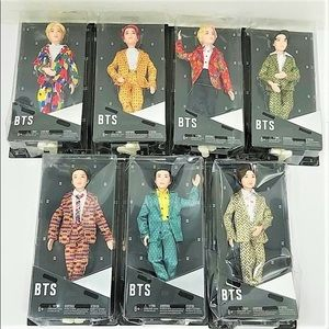 Set of BTS Idol Dolls